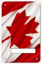 Stratocaster Tremolo Cover Custom Fender Graphic Guitar Canadian Patriot Flag 3