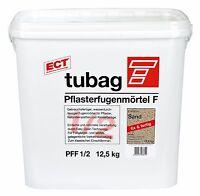Tubag Pflasterfugenmörtel PFF 12,5 KG wasserdurchlässig FIX UND FERTIG Sand