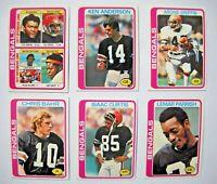 1978 Topps Cincinnati Bengals Team Set (24 Cards) Near Mint NM