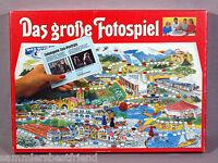Das Große Fotospiel für 2-6 Spieler ab 10J. VWI-VERLAG von 1984 Foto Lernspiel