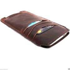 genuine italy leather Case for apple iphone 6 plus book wallet slim cover band R