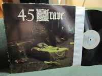 45 Grave Sleep In Safety Us Lp Rare Goth '83 '87 vinyl germs rozz deathrock punk