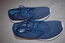 Womens Athletic Shoes BLUE LIGHTWEIGHT SNEAKERS Lace Up DANSKIN NOW Mem Foam 7.5