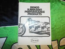 DENCO KAWASAKI PERFORMANCE PARTS CATOLOG