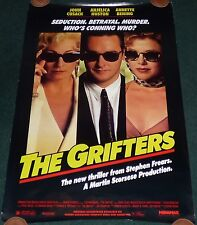 THE GRIFTERS 1990 ORIGINAL ROLLED 1 SHEET MOVIE POSTER JOHN CUSACK