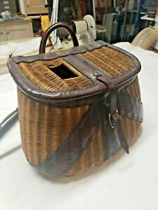 Vintage heavily leathered Creel