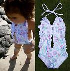 Bébé Fille Bikini Floral Split Maillots De Bain Natation Vêtements
