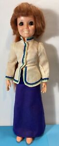 """Ideal Crissy Doll wearing """"Hob Knobber"""" Outfit. Missing The Belt 18"""" 1969"""