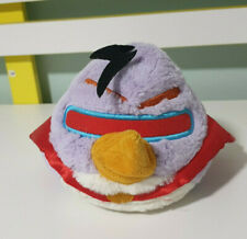 ANGRY BIRDS SPACE PURPLE WITH CAPE PLUSH TOY! SOFT TOY ABOUT 12CM  KIDS TOY!