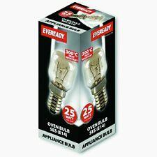 Eveready 220-240V 25w 300°C Oven Kitchen Appliance Lamp SES E14 Bulb Pygmy (E)