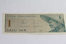 1964  1 SEN Specimen Note about Uncirculated Indonesia