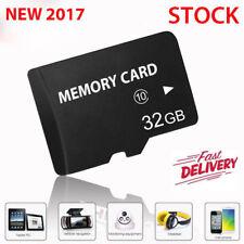 32GB Class 10 Micro SD Card + Adapter TF SDHC Flash Storage Memory UK