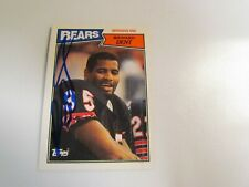 1987 Topps Richard Dent Autographed #56 Card
