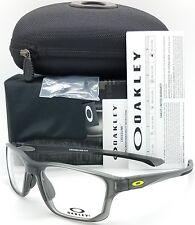 NEW Oakley Crosslink Fit RX Frame Satin Grey Smoke OX8136M-0255 55mm AUTHENTIC