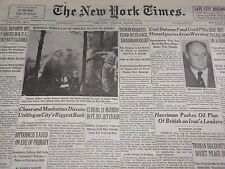 1951 AUGUST 21 NEW YORK TIMES - 12 DEAD IN FT. DIX JET CRASH - NT 2051