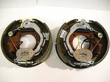 "2x 12-1/4x3-3/8"" TRU-RIDE 10K GD Electric Backing Plate 10000 Trailer Brake axle"
