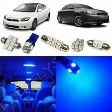7x Blue LED lights interior package kit for 2008-2014 Scion tC ST1B
