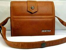 Hülle für Pentax 110 Kamera Objektiv Outfit Schulter Kuriertasche Vintage Echt