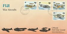 1981 Fiji oversize FDC cover WWII Aircrafts