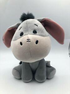 Winnie The Pooh Grey Eeyore Donkey Disney Plush Kids Soft Stuffed Animal Toy