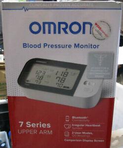 Omron 7 Series Wireless Upper Arm Blood Pressure Monitor Bluetooth BP7350 NEW