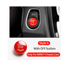Engine Start Stop Pushbutton ABS Cap pour BMW 3 Series F30 With OFF Button BMW28