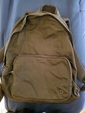 Lululemon Backpack army green