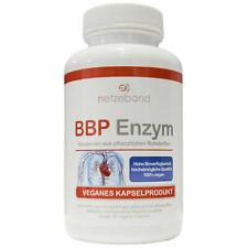 Netzeband BBP Enzyme Bromelain Betain Papain 90 vegane Kapseln Proteasen
