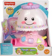 Fisher-Price MY PRETTY LEARNING LAMP 40+ Songs & Music Pretend Play Fun Baby Toy