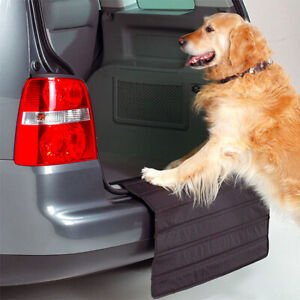 Foldable Car Boot Liner Mat Bumper Protector Dog Cat Pet Waterproof Cover