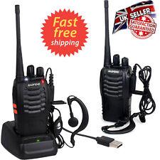 2PCS Baofeng Talkie Walkie BF-888S UHF 400-470 MHz Radio 2-Way 16CH Long Range UK