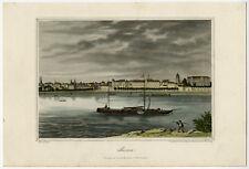 Antique Print-BONN-BOAT-RHINE-GERMANY-Klimsch-Mayer-ca. 1850