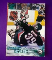 1997-98 Pacific Crown Collection Ice Blue Dominik Hasek #39 Buffalo Sabres