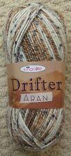 King Cole Drifter Aran Knitting Yarn Shade 4186 Sierra Nevada