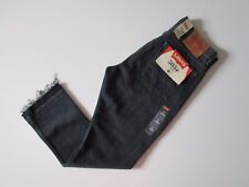 NWT Levi's Orange Tab 505 C in Summer of Love Raw Hem Cropped Straight Jeans 32