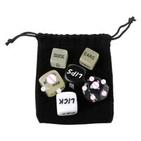 6pcs Adult Love Dice Sex Position Funny Game Foreplay Toy Set Lover Bachelor