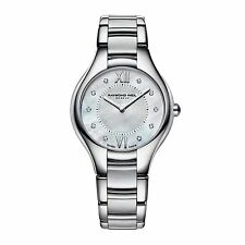 RAYMOND WEIL Noemia 10 Diamond Ladies Watch 5132-ST-00985 - RRP £895 - BRAND NEW