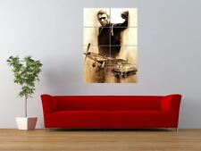 Steve Mcqueen Legend Hollywood Star Actor Giant Wall Art Poster Print