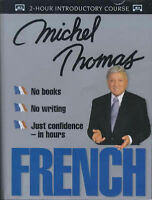 French with Michel Thomas by Michel Thomas (Audio cassette, 2000)