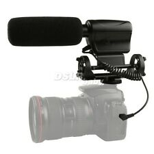 NA-Q7 Professional Stereo Microphone For Canon Nikon Video Camera DV Camcorder