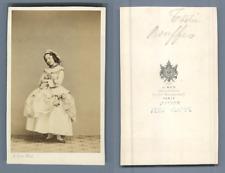 Ken, Paris, Actrice nommée Tostie, du Théâtre des Bouffes, circa 1860 vintage CD