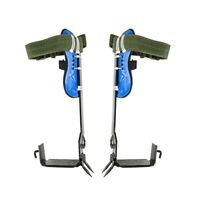 Tree Climbing Spike Set Safety Belt W/Gear Adjustable Lanyard Rope Rescue Tool