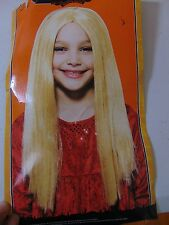 Witch Wig Light Blonde Long Child One Size Halloween Costume Accessory #1257