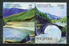 Albania 2018 MNH Thermal Springs 2v Set Bridges Tourism Landscapes Stamps