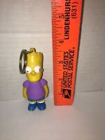"Vintage The Simpsons Bart Simpson Keychain 1990 Matt Groening 3.5"" tall"