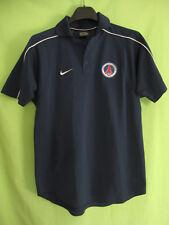 Polo PSG Paris Saint germain Nike Football Vintage Maillot Marine Jersey - S