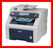 Brother MFC-9120CN Printer w/ NEW Toners & NEW Drums -- REFURBISHED !!!