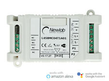 Newlab L458MC04T1A01 Led Dimmer PWM In Tensione Pulsante NO WiFi Alexa Google