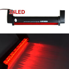 Car 12V Red 24 LED High Mount Third 3RD CHMSL Brake Stop Tail Light Add-on Lamp