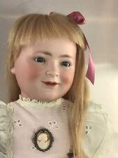 """22"""" Antique German Bisque Head Doll Schoenau & Hoffmeister Princess Elizabeth"""